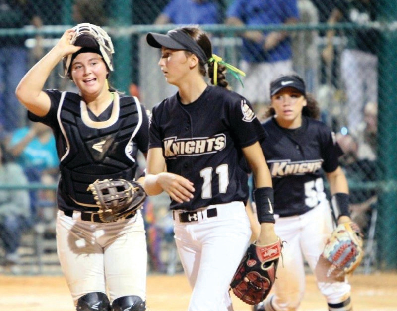 Lady Knights finish second