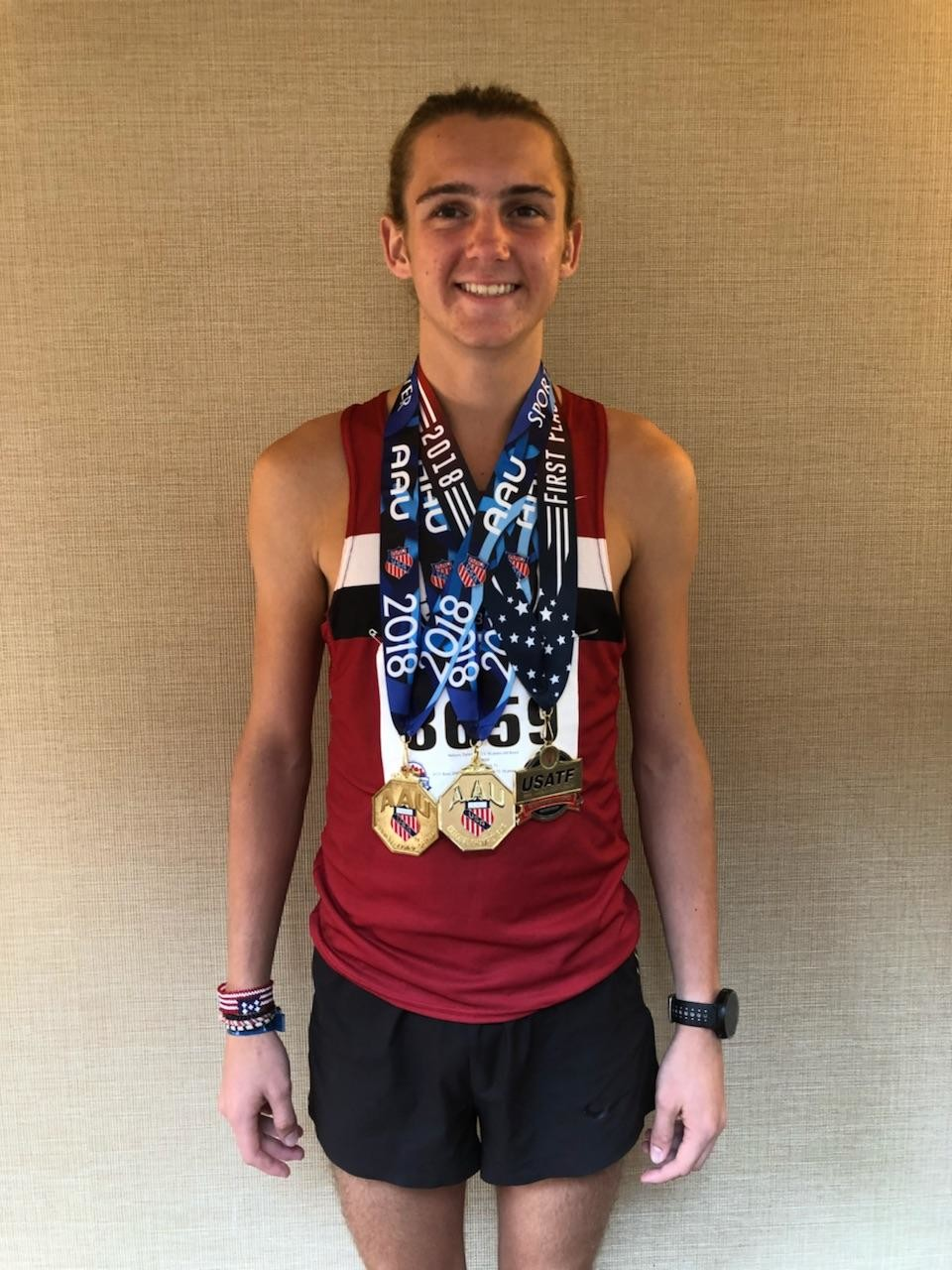 Oakleaf High junior track runner Dylan 