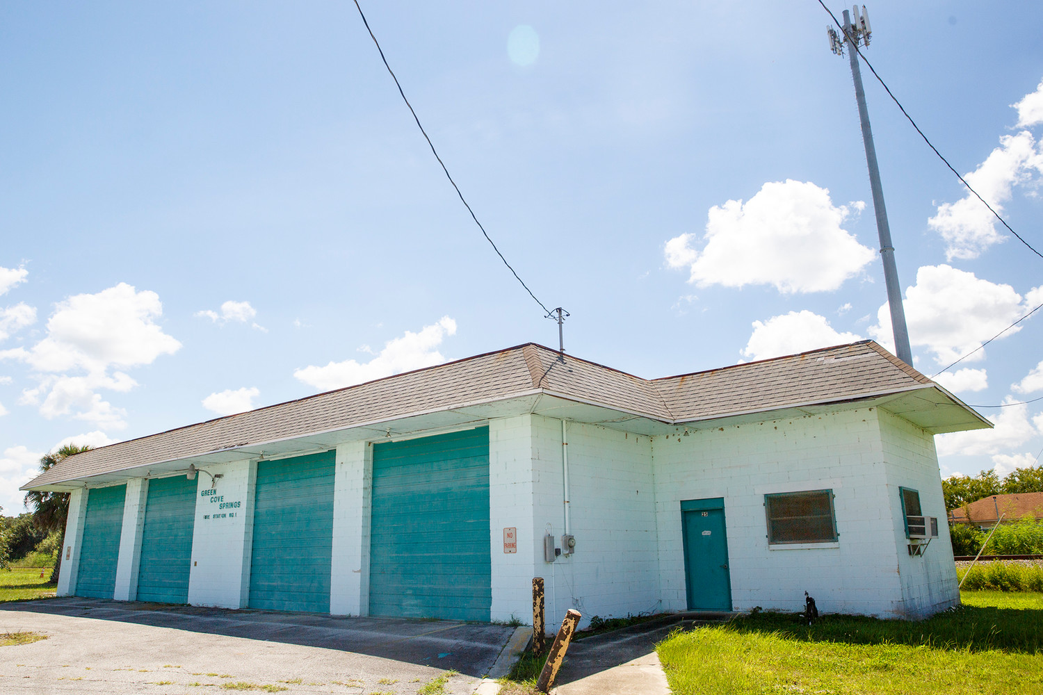 The city of Green Cove Springs will again look to sell the old fire station building located along Roderigo Ave. near the railroad tracks. The 2,100 square foot building sits on about an acre of land and the entire property is appraised at $134,000.