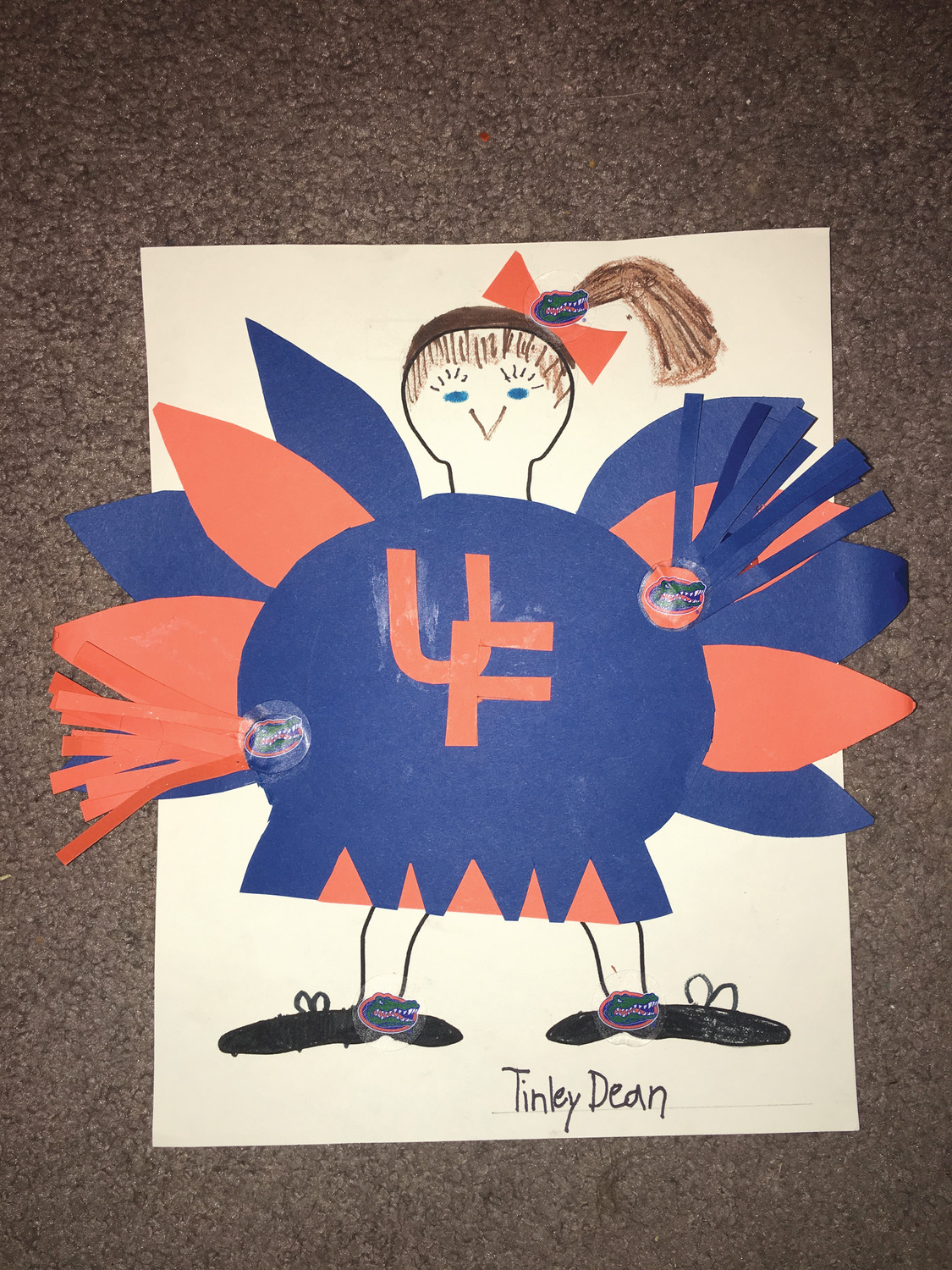 I am NOT a Turkey! By Tinley Dean
