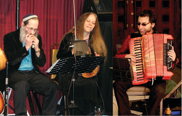 An Evening of Klezmer Music with Tzibeles, featuring Fishel Michael Bresler, Beth Coen and Cory Pesatauro, will be at Common Fence Music on Dec. 3.