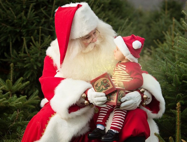 Santa will be at the Audubon Environmental Education Center on Saturday, Dec. 3.