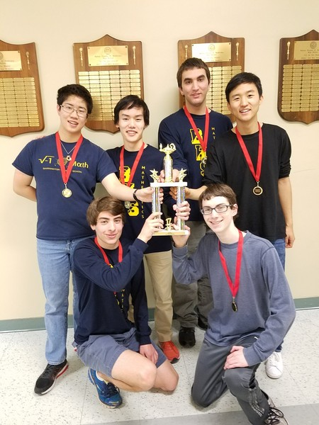 Barrington High School brought home the state Math League Championship recently.