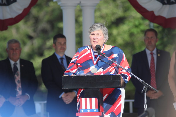 Fourth of July General Chairwoman Donna Falcoa