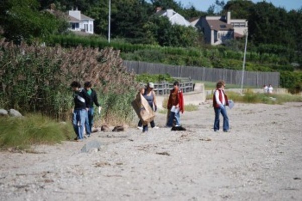 Barrington Town Beach has been part of the annual International Coastal Cleanup for years.