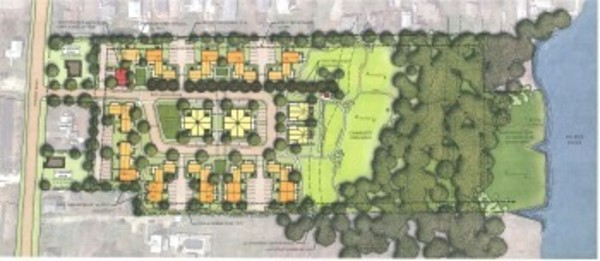 Plans for a proposed development dubbed Palmer Pointe.
