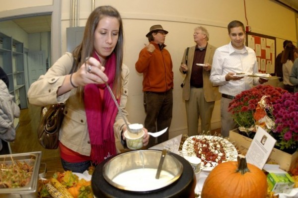 Friends of Hope and Main came out to a tasty event at the school last week.