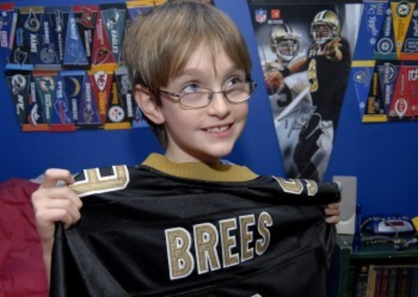 Barrington's Quinn Rothschild will travel to New Orleans this week to see Drew Brees and the Saints play against the San Francisco 49ers. A Wish Come True, Inc. arranged the trip for Quinn.