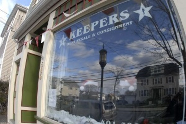 Keepers is a new consignment shop in Bristol specializing in men's clothes.