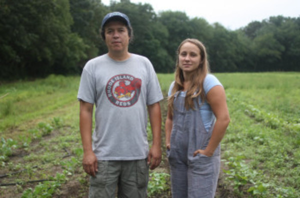 New Urban Farmers' Bleu Grijalva and Emily Jodka are bringing their sustainable produce to Warren.