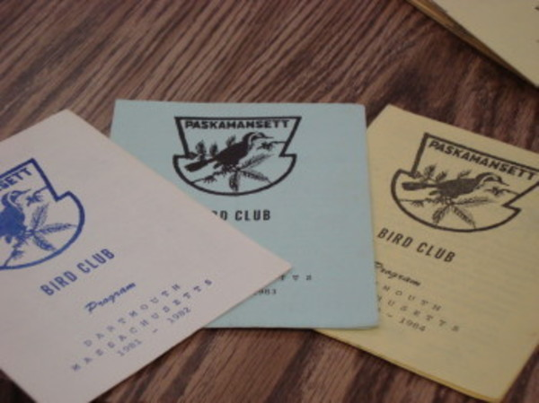 Booklets from the clubs earlier years.