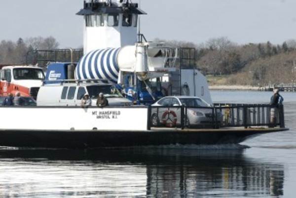 Islanders are concerned that the Prudence Ferry operations may be disrupted in the near future. Photo by Richard W. Dionne Jr.