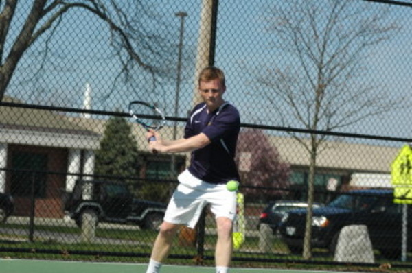 Barrington senior Cam Voight will play for the state individual tennis title on Sunday.