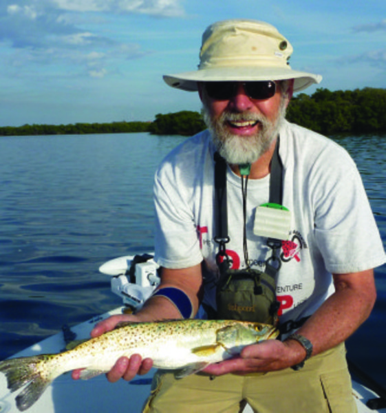 Robert J. Sousa, Ph.D., fly fisherman extraordinaire, will be signing copies of his third book at Barrington Books on June 8.