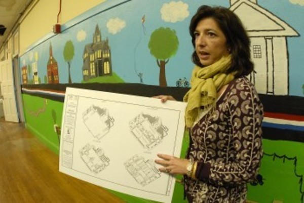 Hope & Main founder Lisa Raiola of Bristol talks about her plans for the old Main Street Schfool.