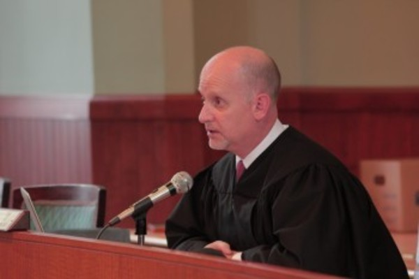 Barrington Municipal Court Judge Frank Connor, shown at a previous session, had two no-shows on Sept. 19.