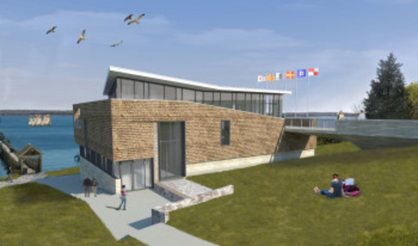 Roger Williams University will break ground on its new sailing center this spring.