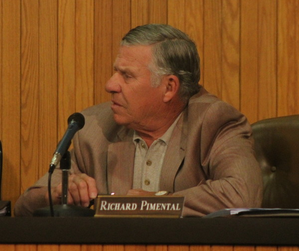 "Richard ""Spunk"" Pimentel as decided against pursuing re-election to the East Providence School Committee."
