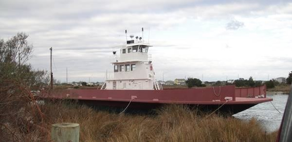 File photo of A&R Marine Corp.'s 112-foot ferry. Several modifications have been made on the boat since this photograph was taken.