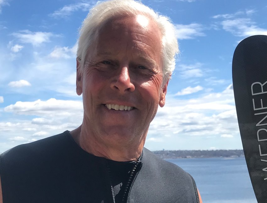 Brownell Street resident Fred Massie, an avid kayaker, knows the waters around Touisset Point, Spar Island and the Kickemuit as well as anyone.