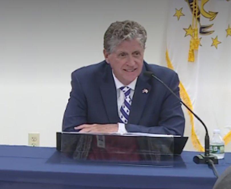 McKee stops short of mandating masks in Rhode Island schools