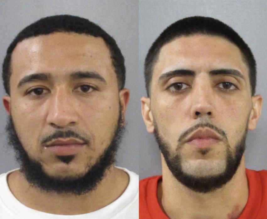 Nathaniel Duarte-Souto, left, and Ryan Merkt.
