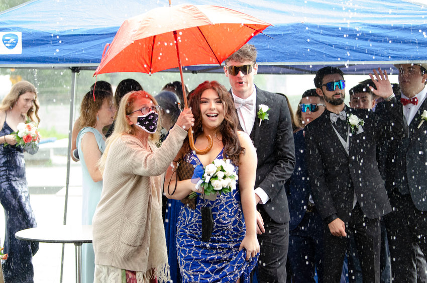 Back in June, Mt. Hope High School Principal Deborah DiBiase spent part of the Senior Prom helping students cross from tent to tent on a rainy night, during the event hosted along the Herreshoff Marine Museum waterfront. This fall, the school decided it is not safe hold the traditional Homecoming dance.