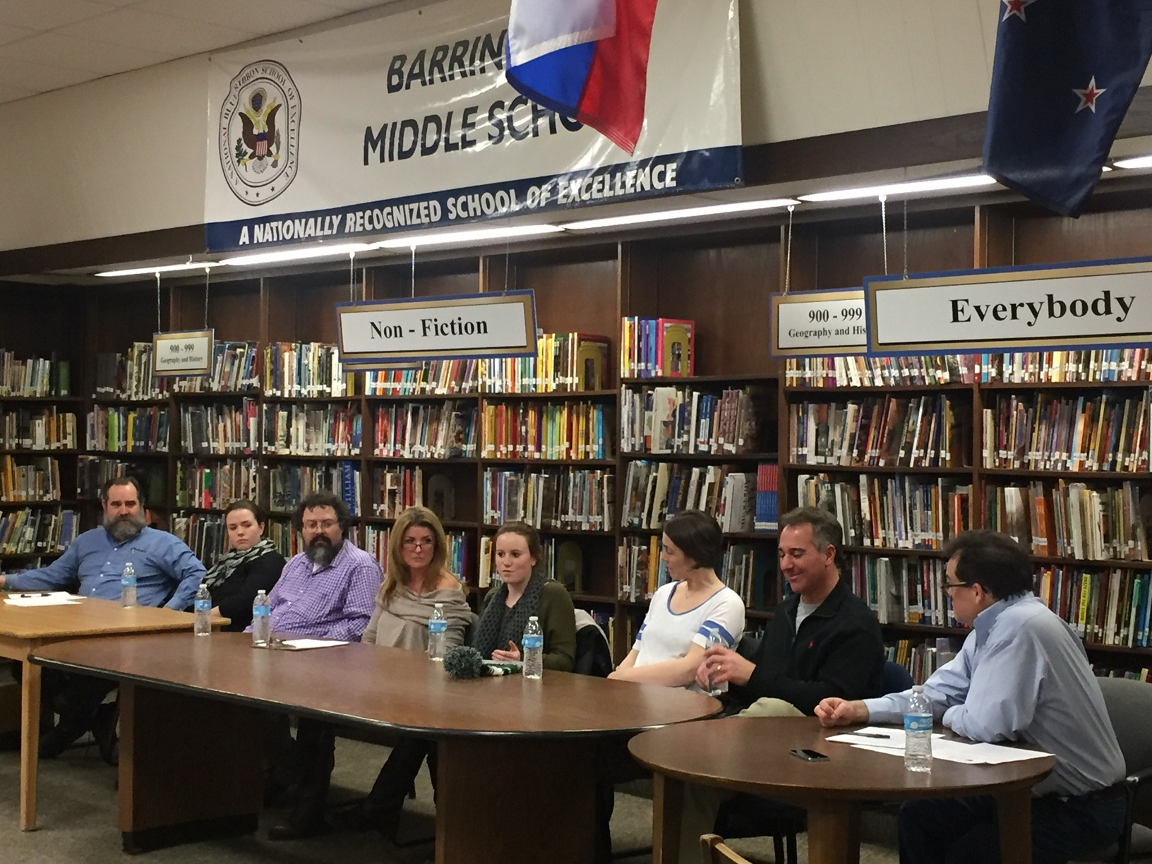 The panel discusses the importance of arts during a recent BEF circle of conversation.
