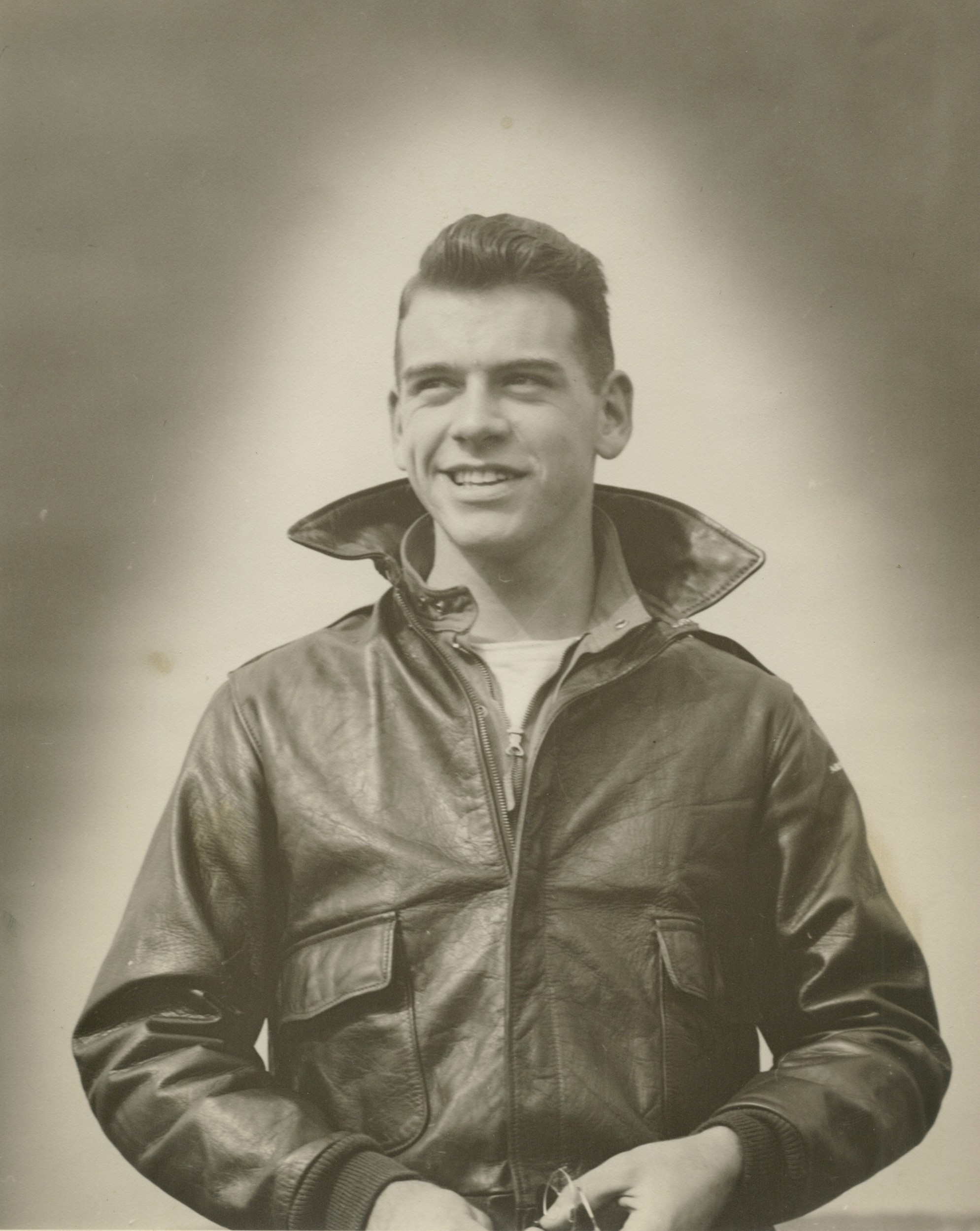 During World War II, Ros Bosworth Jr. served in the Army Air Force and was in the combat air crew training program when the war ended.