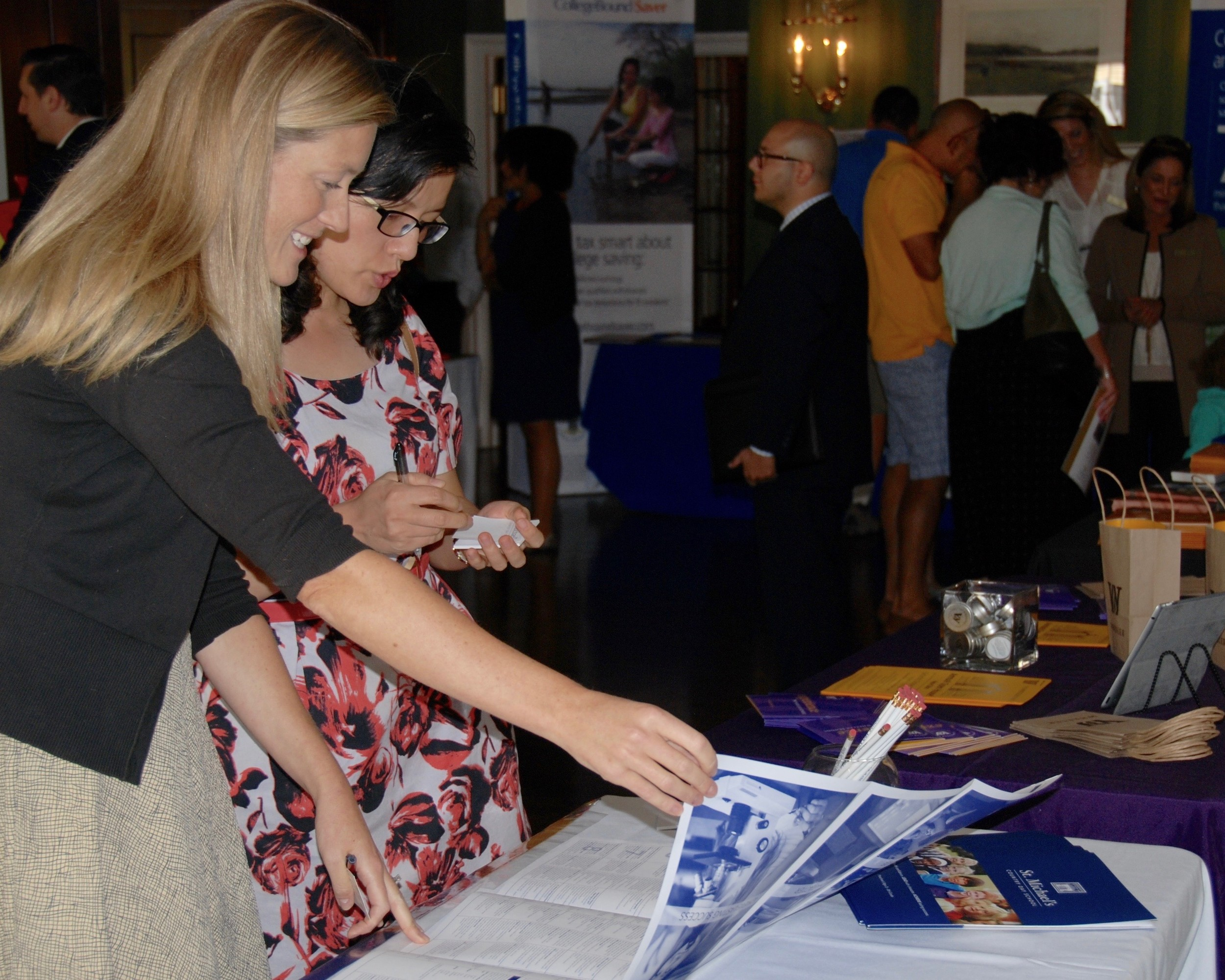 Guests at the RIPS Fair have have the chance to learn more about several schools in one convenient visit.