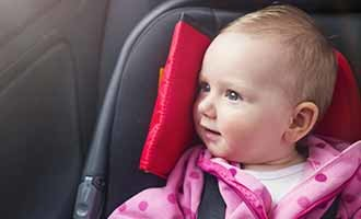Recalled infant car seat