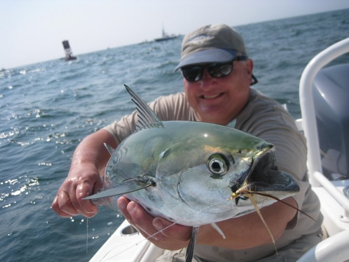 "Capt. Ray Stachelek, Cast-a-Fly Charters, said, ""First you have to control your adrenaline rush when hooking up with a false albacore."" He will be guest speaker Monday, Dec. 18 at a RISAA seminar."
