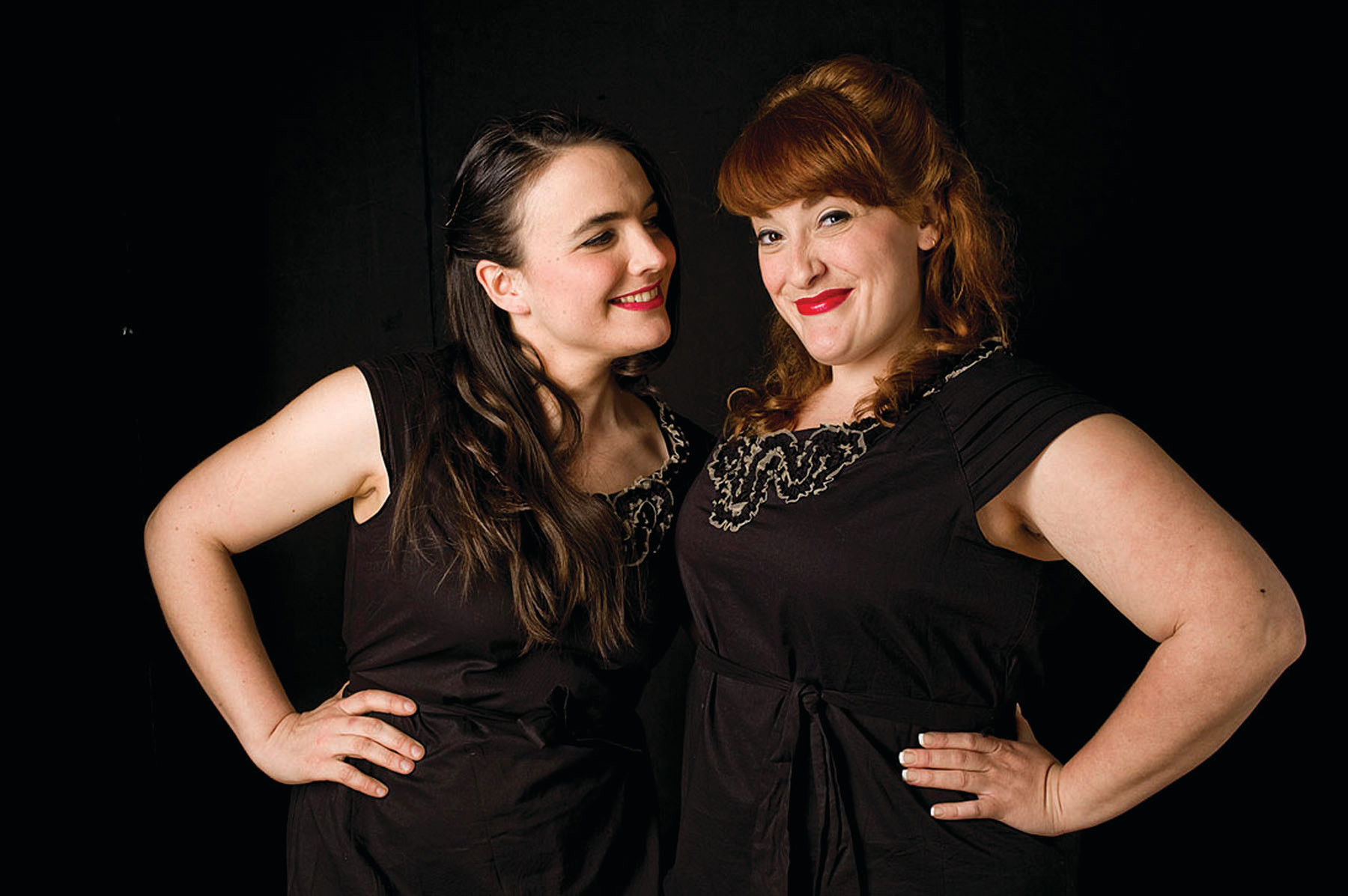 The Sweetback Sisters' Country Christmas Sing-Along Spectacular. Saturday, December 16, 2017 at 8pm. Common Fence Point Hall, 933 Anthony Road, Portsmouth, RI. Tickets $22 in advance, $25 at the door.