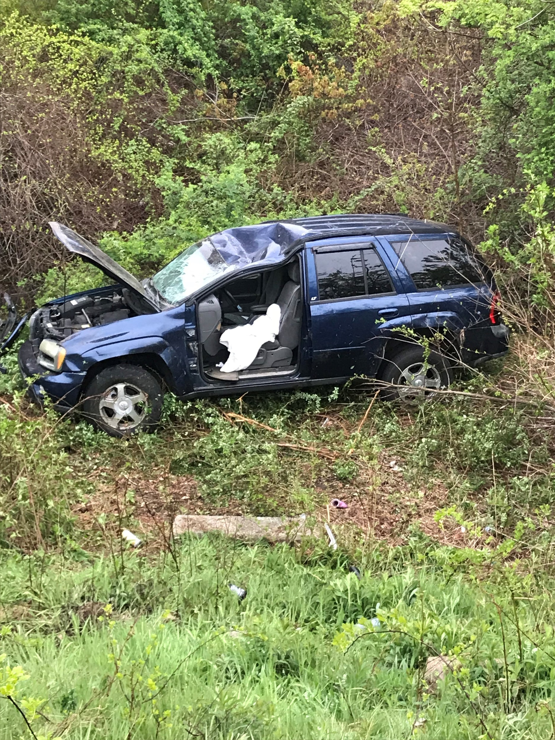 Portsmouth firefighters use Jaws of Life to free driver after crash