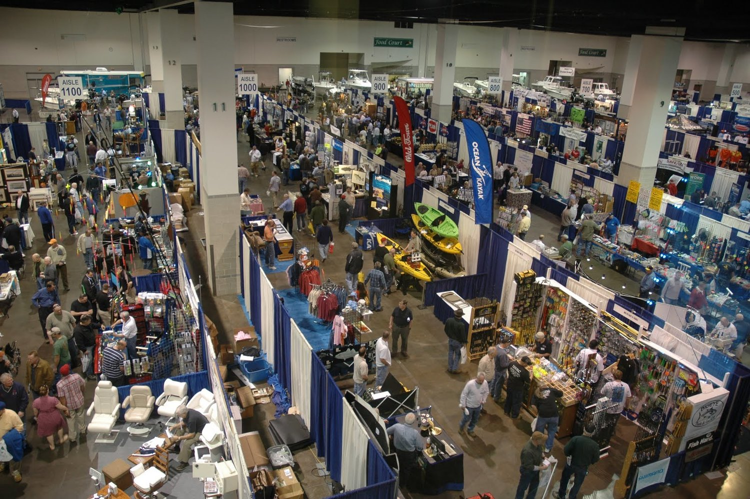 The New England Saltwater Fishing Show, March 22-24 at the Rhode Island Convention Center, will feature over 300 exhibitors and 60 fishing seminars. Visit www.nesaltwatershow.com for details.