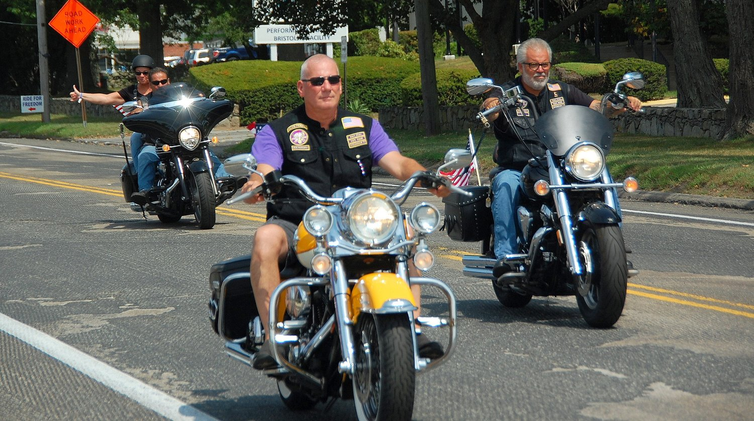 It was a great day for the 170-plus riders who took part in Sunday's annual Ride for Freedom.