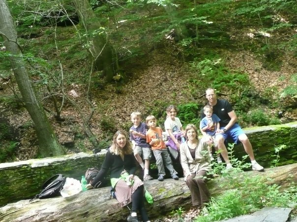 Jane Albrecht shared this photo of her family exploring the Glen Stream Trail more than a decade ago.