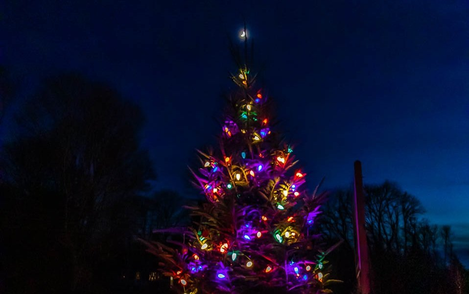 The 2nd annual Christmas tree lighting at the former St. Vincent's camp  on Adamsville Road will be held Thursday, Dec. 12.