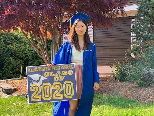 Kelly Kaon is a member of the Barrington High School Class of 2020.