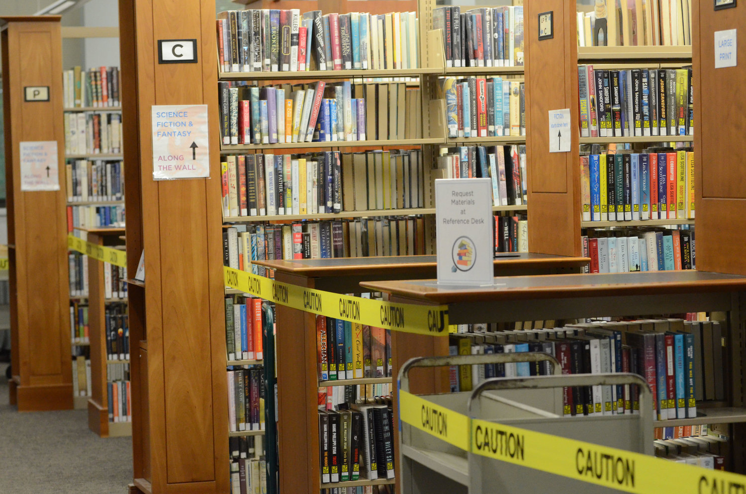 Officials are proposing a $74,000 reduction to the Barrington Public Library budget.