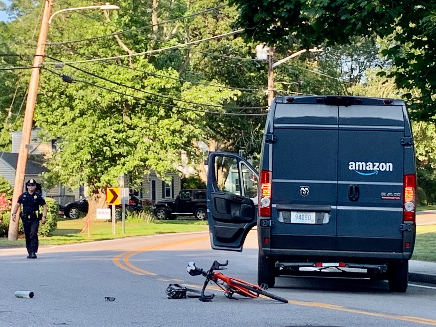 A Barrington man was seriously injured in an accident on Thursday afternoon, July 9.