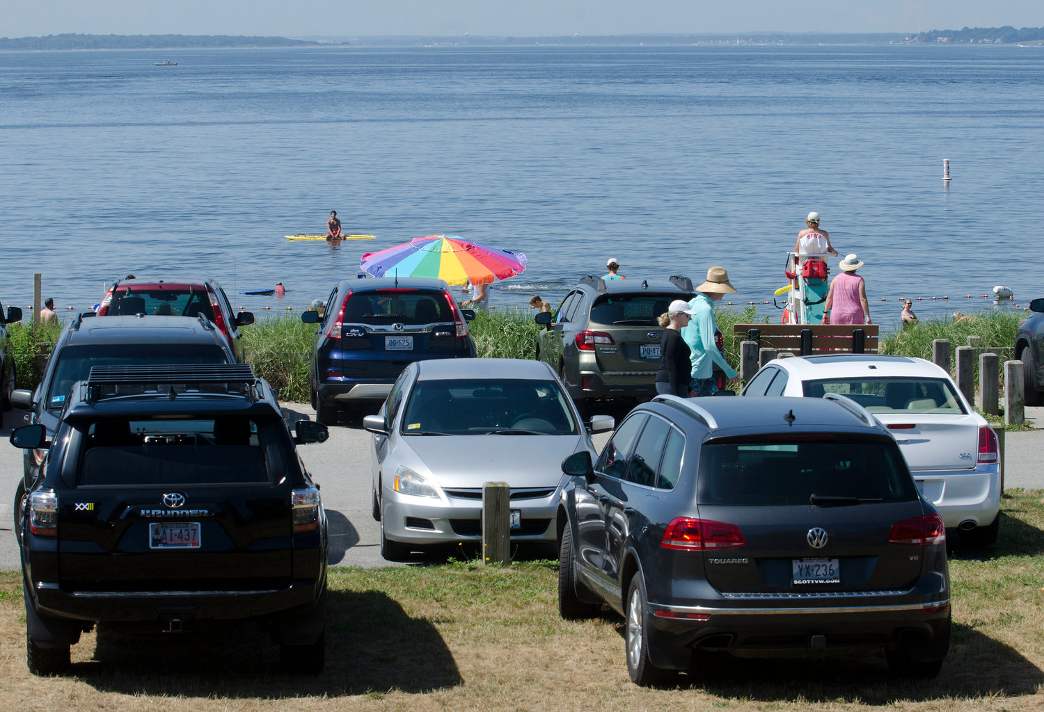 Barrington Town Manager Jim Cunha recently restricted the Barrington Beach parking lot to residents only, from 8 a.m. to 8 p.m. every day of the week.