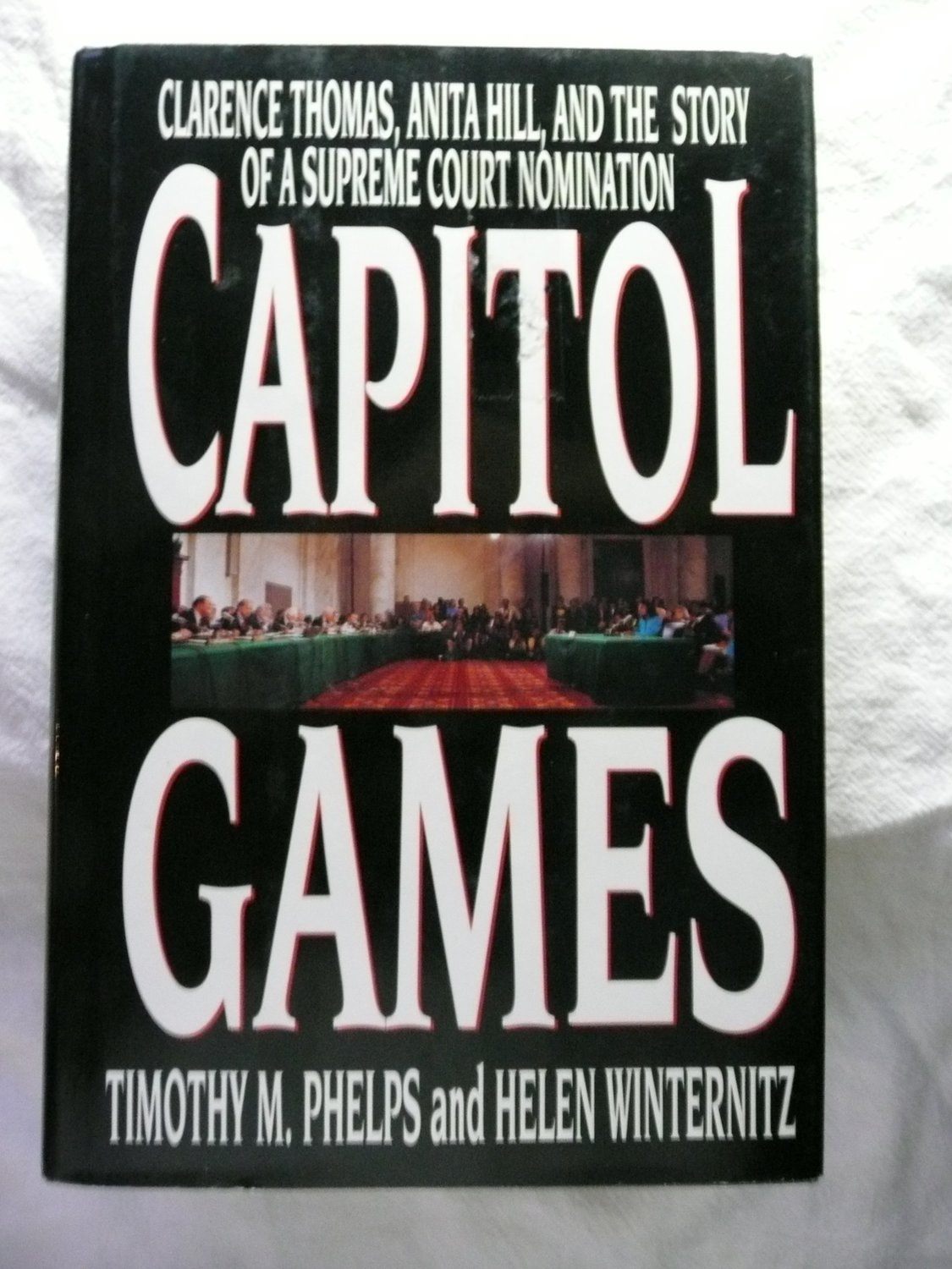 Mr. Phelps co-authored this 1992 book about the Anita Hill story, which was later turned into a docudrama by HBO.