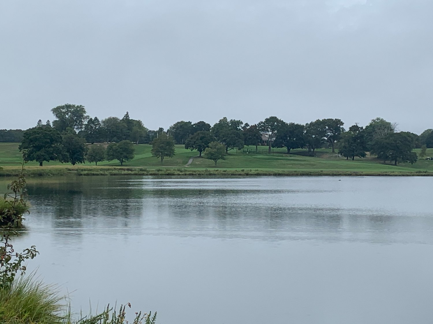 A view of the Metacomet Golf Club from the Watchemoket Cove off Veterans Memorial Parkway.