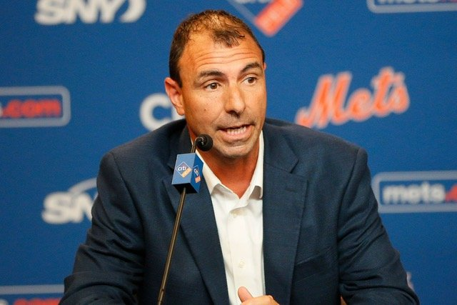 Barrington's Tom Tanous is the New York Mets Vice President of International and Amateur Scouting, a position he's held since 2017. He oversees both the Major League amateur draft and international player evaluations.