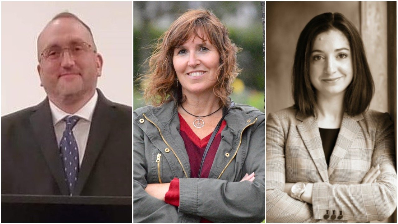 Nathan Melvin, Michelle McGaw, and Amy Veri (from left) will be squaring off in the race for the District 71 House of Representatives seat.