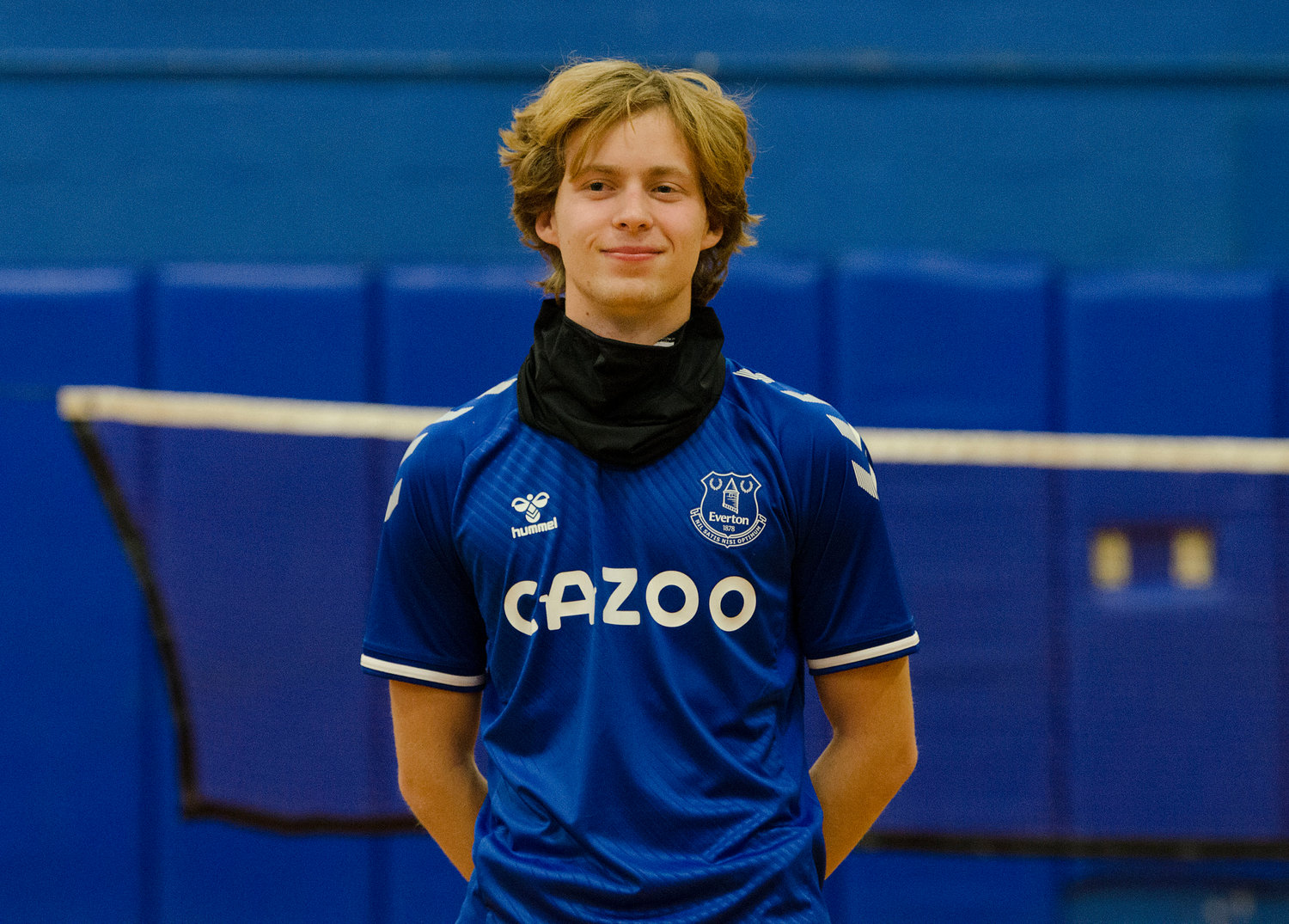 Barrington High School senior Cameron Chalue-Feeney signed his collegiate letter of intent to play soccer for Everton FC Academy in England in the fall. Cameron, a standout for the BHS boys soccer team, celebrated the signing with members of his immediate family.
