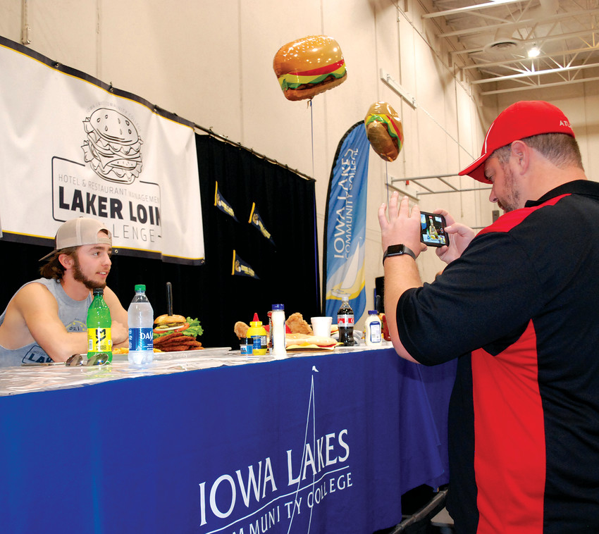 """The First Ever """"Laker Loin Challenge"""""""