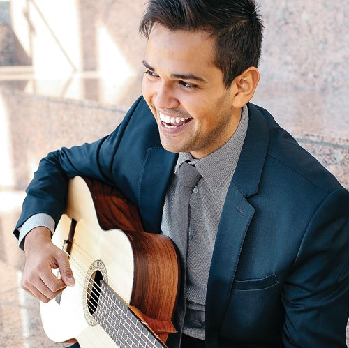 Guitarist Marcus DeJesus will perform at Linmar Gardens. Contributed photo