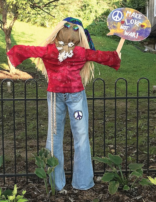 A scarecrow in Washington Park. Contributed photo